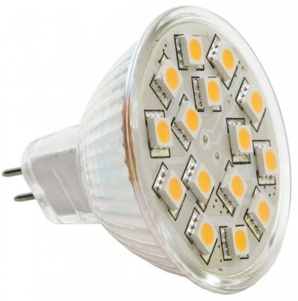 LED-Leuchtmittel Spot - 15 SMD - GU5.3 Sockel | Mörer Schiffselektronik